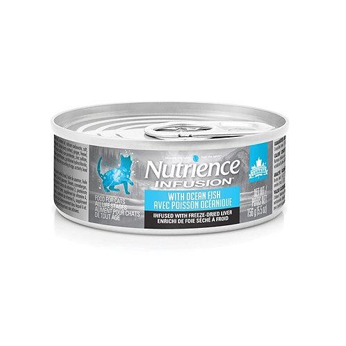 Nutrience Infusion conserve en pâté poisson océanique