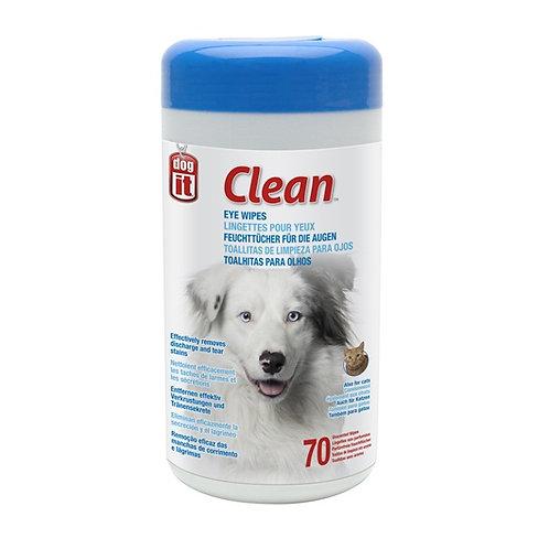 Lingettes non parfumées DogIt Clean pour yeux (paquet de 70)