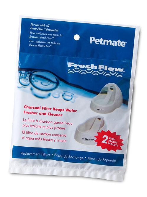Filtres de rechange pour abreuvoir FreshFlow Petmate (2x)