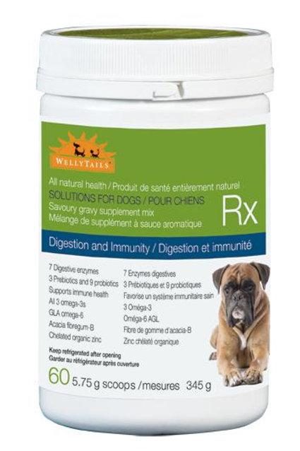 Supplément digestion et immunité WellyTails RX 345gr