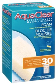 Variétés de masses filtrantes pour filtreur Aquaclear 30