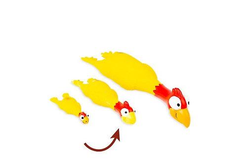 Jouet en forme de poulet en latex Bud'z