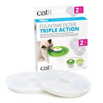 Filtres à triple action pour abreuvoir CatIt (2)