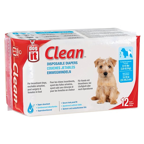 Couche jetables Clean DogIt