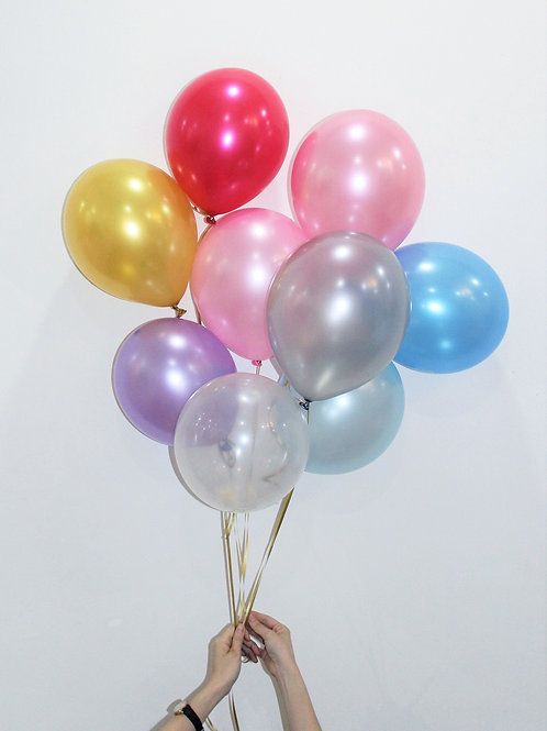 Metallic Helium Balloon