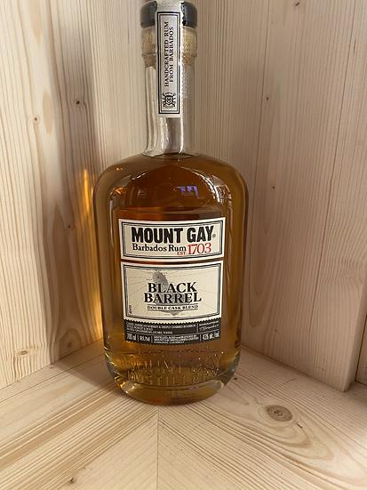 Rhum Mont gay black barrel double cask
