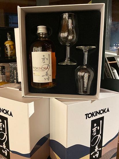 Coffret Tokinoka + 2 verres dégustation
