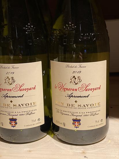 Apremont vin de Savoie