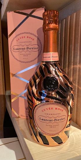 Laurent Perrier cuvée rosé édition spécial robe zèbre