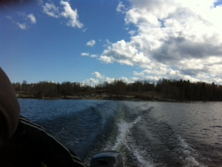 Boat Ride from St. Theresa Point to Wasa