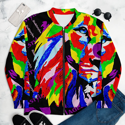 illadelstyles Lion Art Jacket