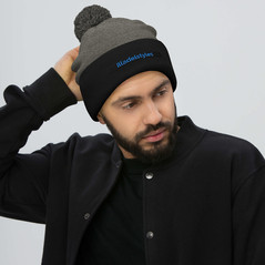 pom-pom-knit-cap-dark-heather-grey-black