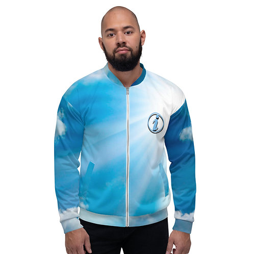 illadelstyles Blue Sky Bomber Jacket