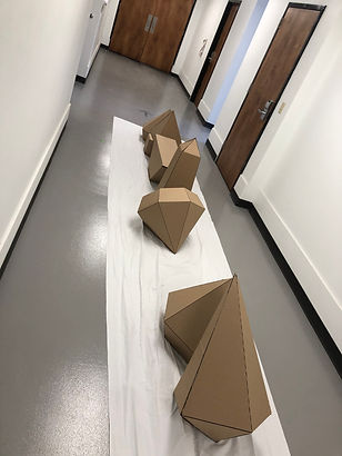 Cardboard Shapes 09