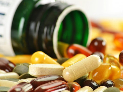Doe um kit de remédios contra enjoo e nauseas
