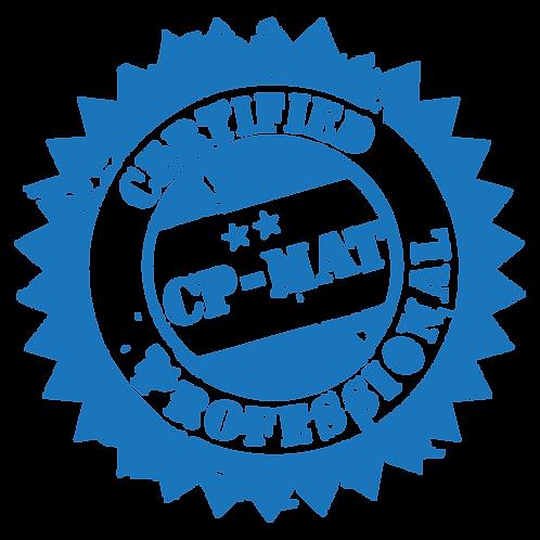 CP-MAT Certification     Regular: $1,250     Early bird: $1,100