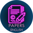 Papers English icon neon.png