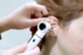 Ear examinaton