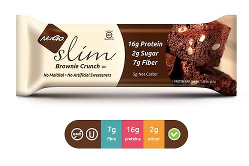 NuGO Slim  Brownie Crunch (Caja con 12)