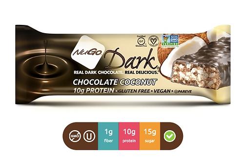 NuGo Dark Coconut (Caja con 12)