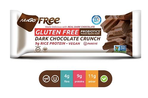 NuGO Free Dark Chocolate Crunch (Caja con 12)