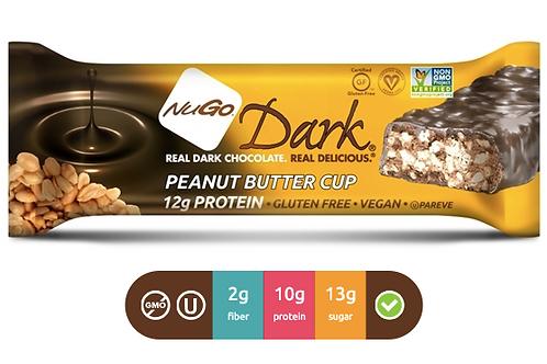 NuGo Dark Peanut Butter Cup (Caja con 12)
