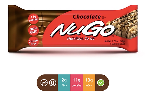 NuGo Family Chocolate (Caja con 15)