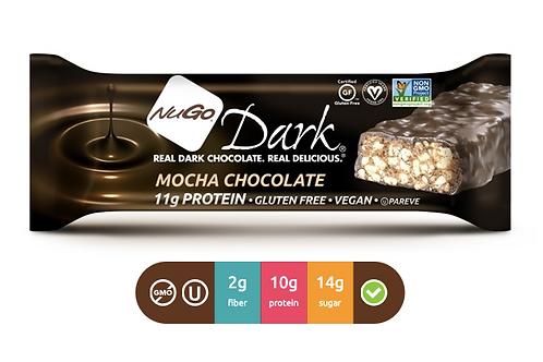 NuGo Dark Mocha Chocolate (Caja con 12)
