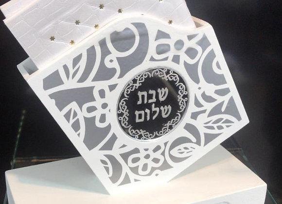 Caja decorativa con 6 Birkat Hamazon