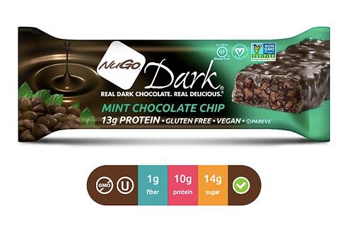 NuGo Dark Mint Chocolate Chip (Caja con 12)