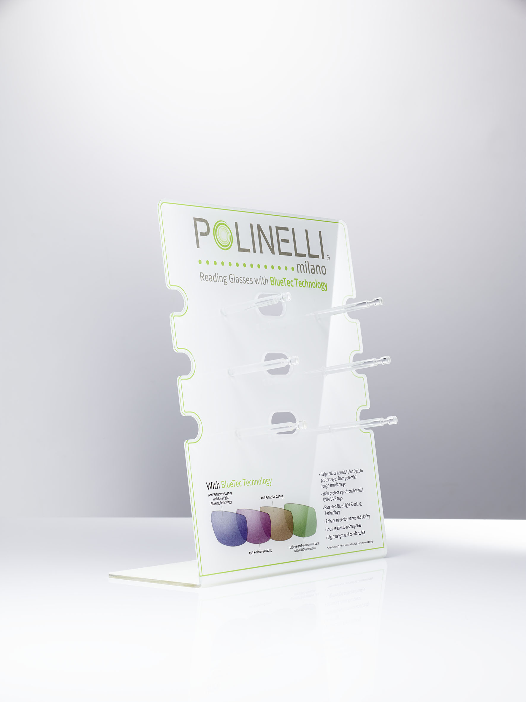 Polinelli 6er Display Acryl