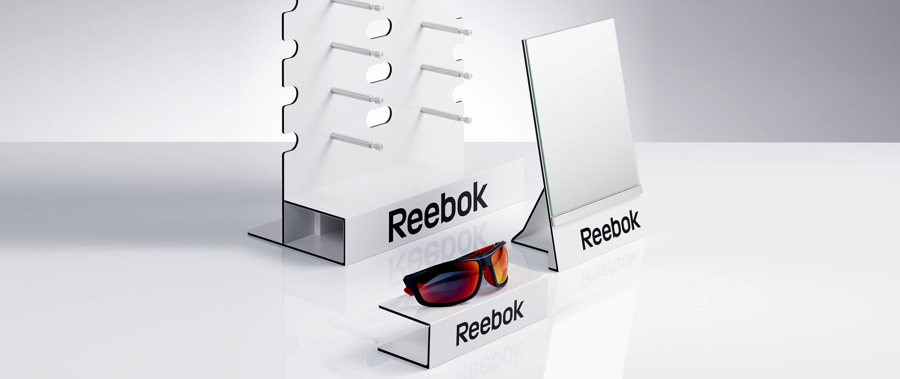 Reebok Displays für FGXI