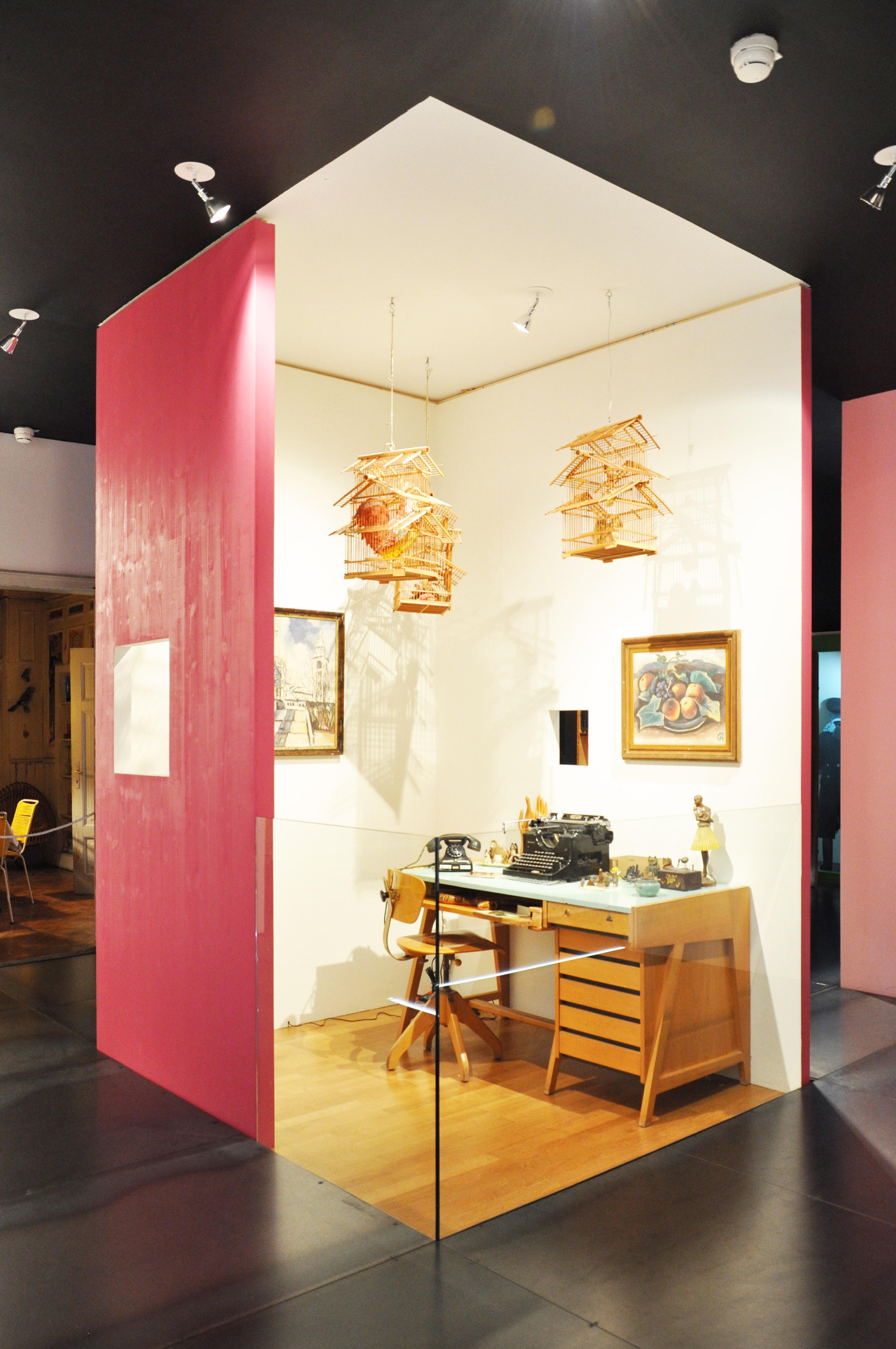 Buchheim Museum Arbeitszimmer