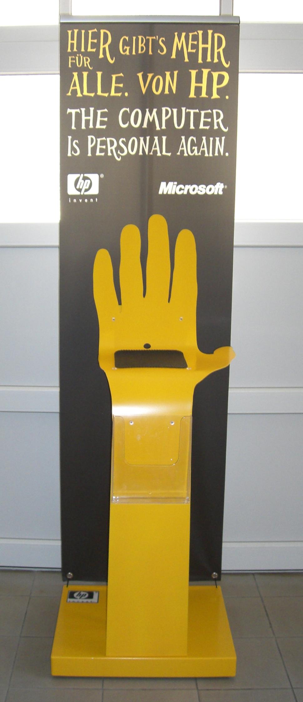 hp gelb 1 Hand