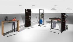 Rossignol Showroom Elemente
