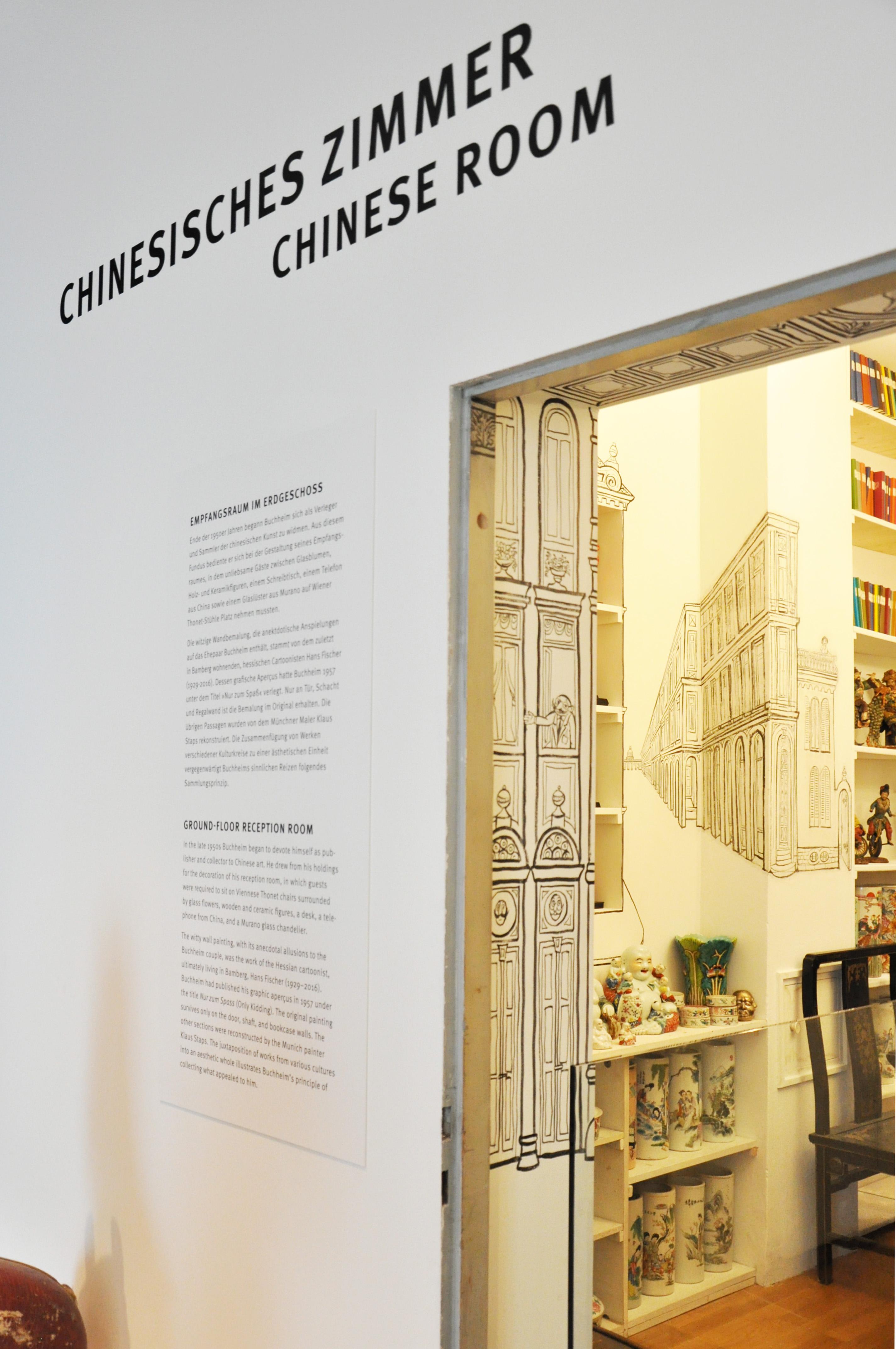 Buchheim Museum chinesisches Zimmer