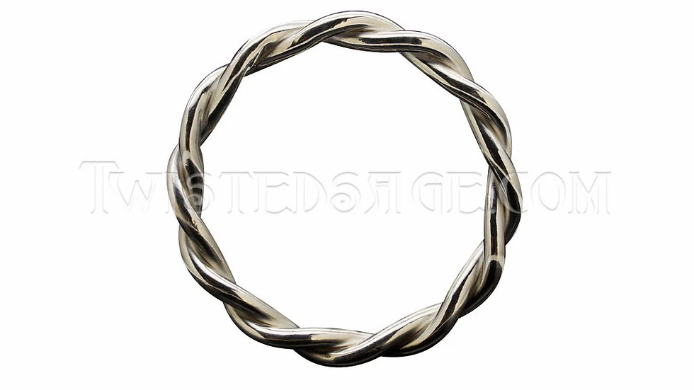"""Silver Water Ring 5.1cm (2"""")"""