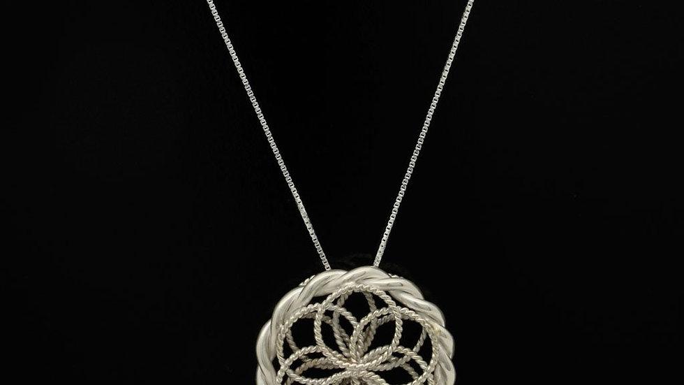 Silver Torus Pendant