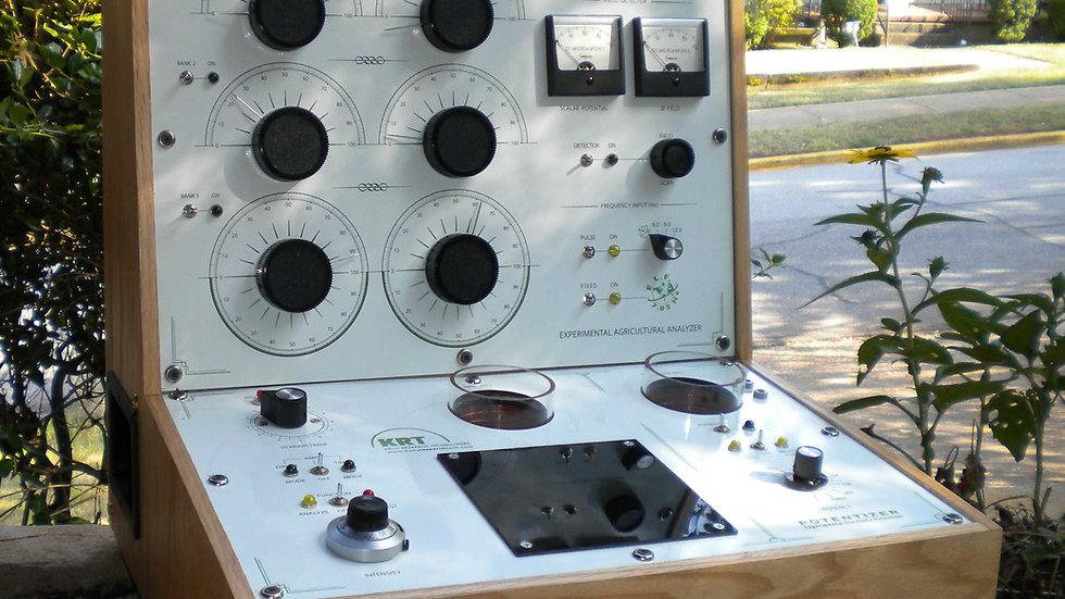 The Work Station - KRT Radionics Analyser