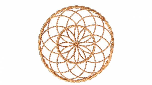 Golden Fire Torus - Twisted Sage