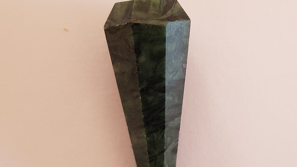 Green Jasper Pendulum