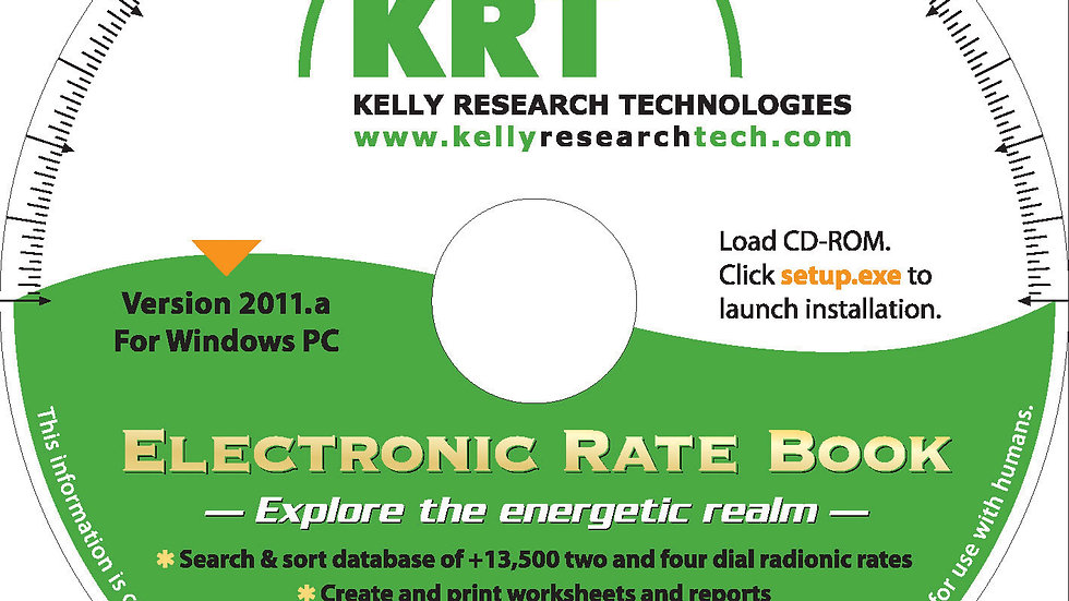 KRT Electronic Rate Book v. 2012