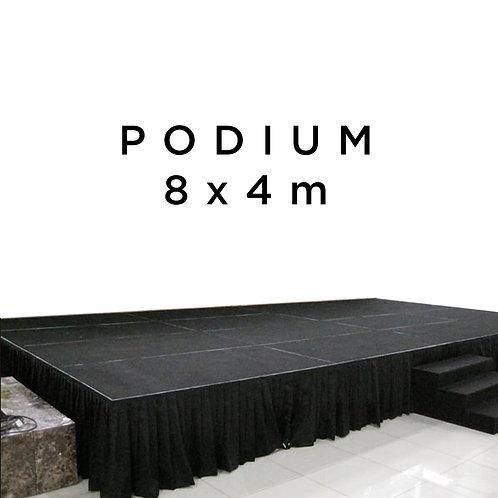 Podium Nivtec 8x4x0,8m