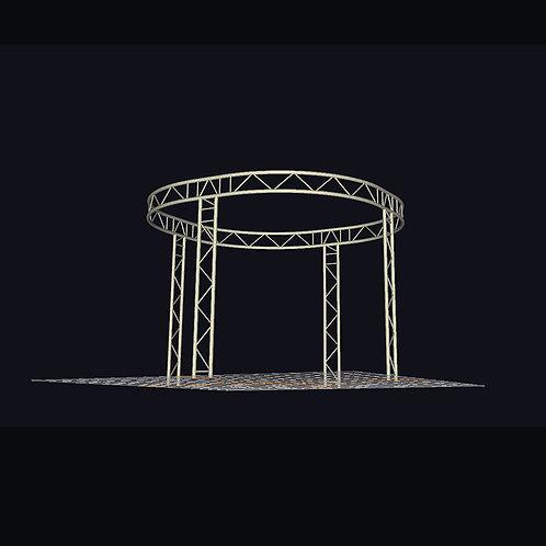 Truss konstrukce 3,5x3,5x2,5m