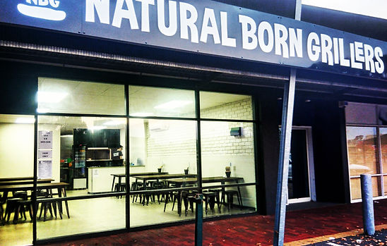 Natural Born Grillers Mount Gambier Shop Front Compton Street Complex