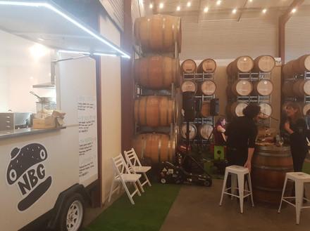 Hollick Barrel Room
