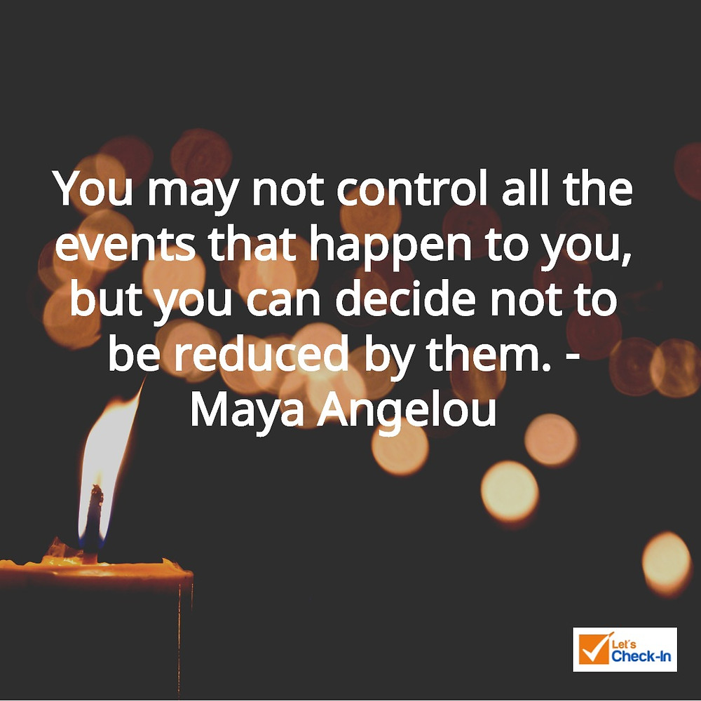 Rebounding advice from Dr. Maya Angelou