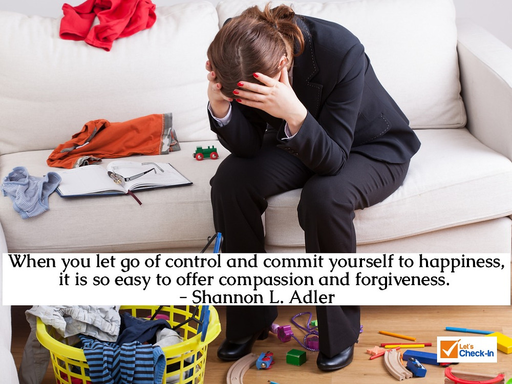When you let go of control and commit yourself to happiness, it is so easy to offer compassion and forgiveness. - Shannon L. Adler | Image - iStock