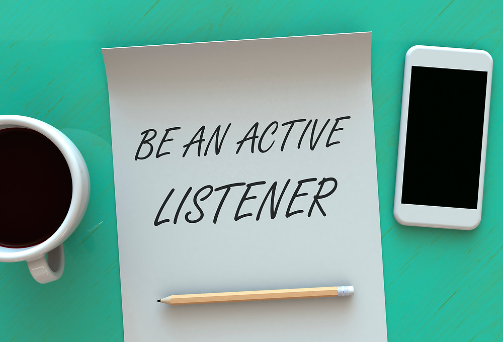 Distractions Happen - Be An Active Listener - image courtesy of iStock