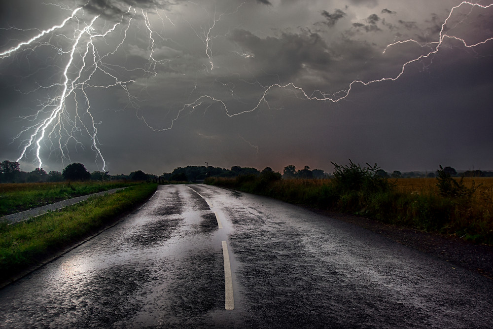 Storms on Life's Road - image courtesy of iStock